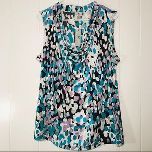 Worthington Cowl Neck Shirt XL